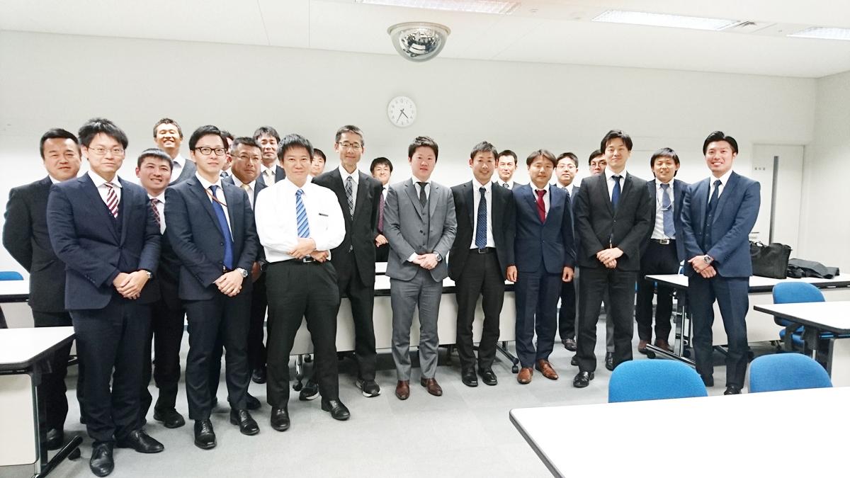 四国電力(株) 営業担当者対象「財務会計」研修風景
